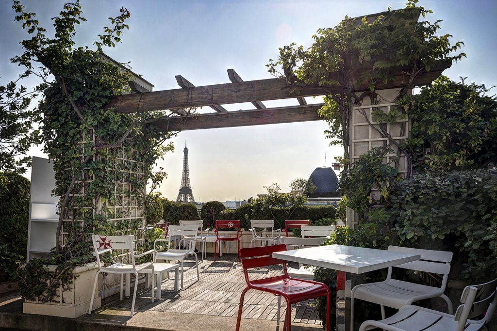 Hotel Raphael has one of the best Eiffel Tower views