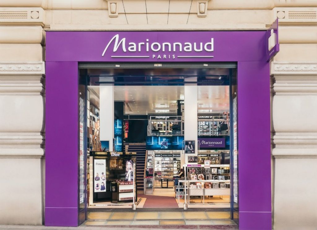 Marionnaud Paris cosmetics