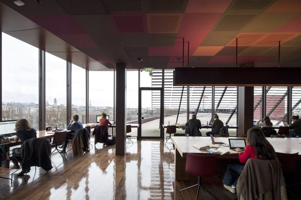 Musee du Quai Branly Library
