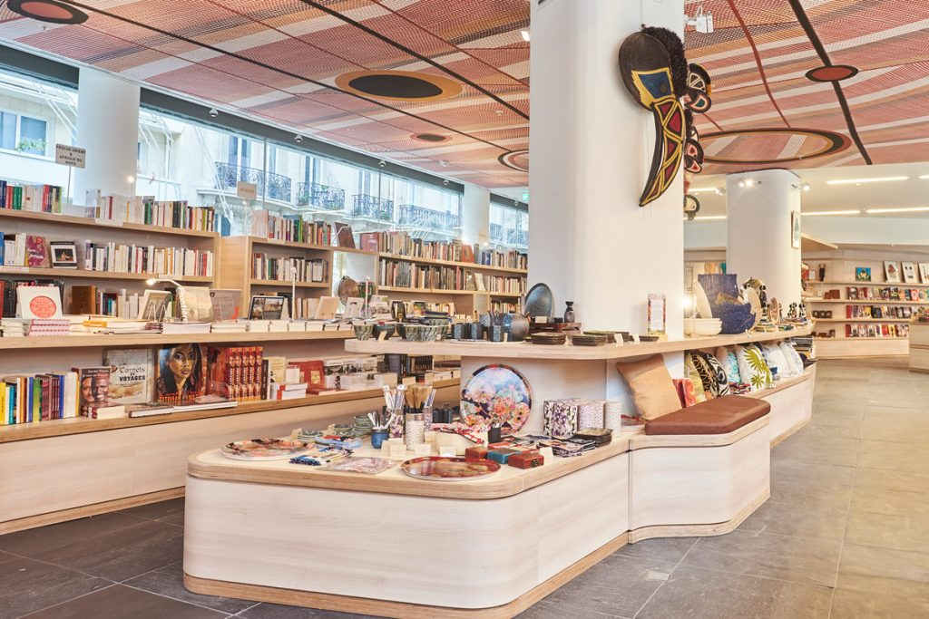 Musee du Quai Branly gift and bookshop