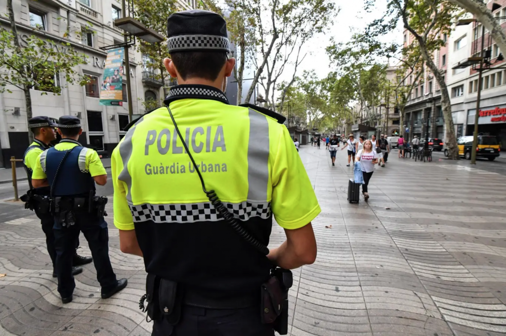 fake police scam in Barcelona