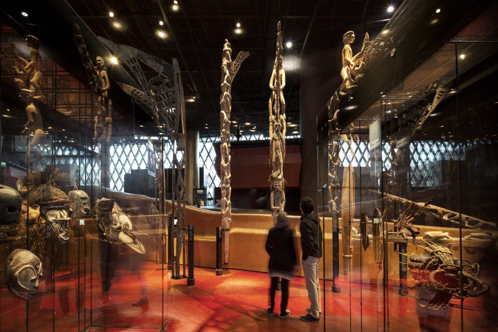 inside Musee du Quai Branly Jacques Chirac