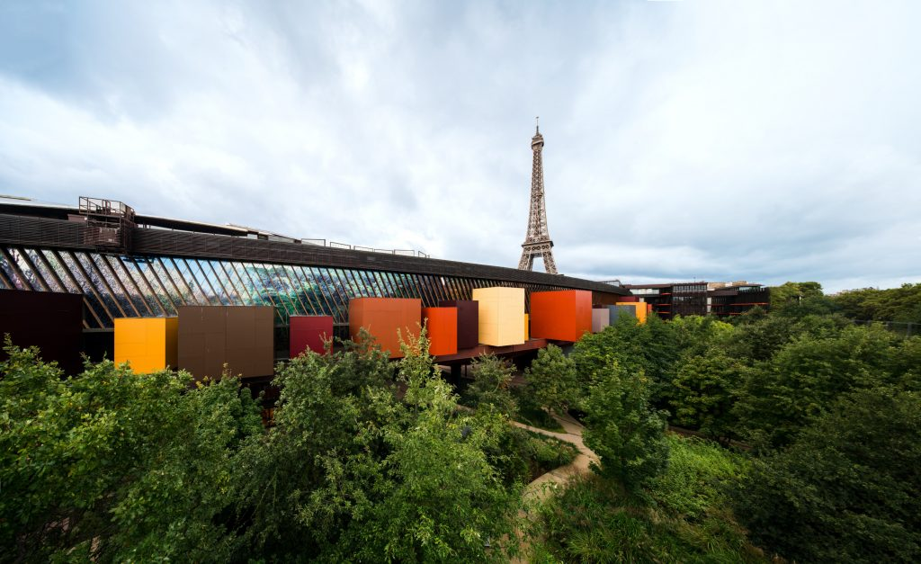 architecture of Musee Quai Branly Jacques Chirac