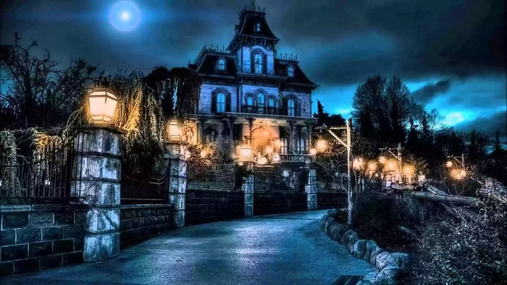 Phantom Manor at Disneyland