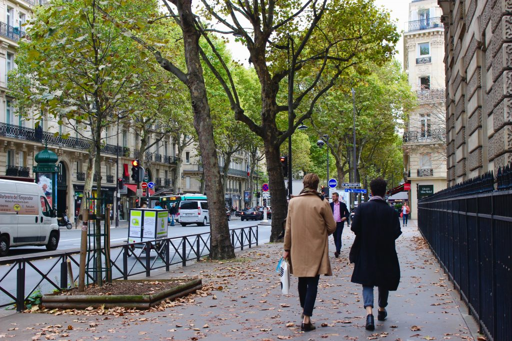 november weather in Paris