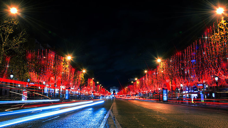 Champs-elysees lights