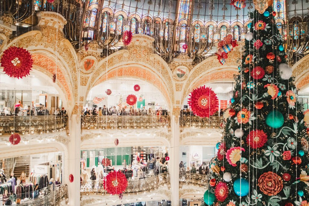 Galeries Lafayette Christmas 2019
