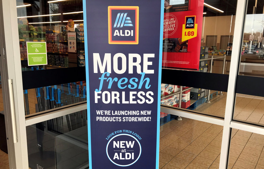 UK grocery stores Aldi