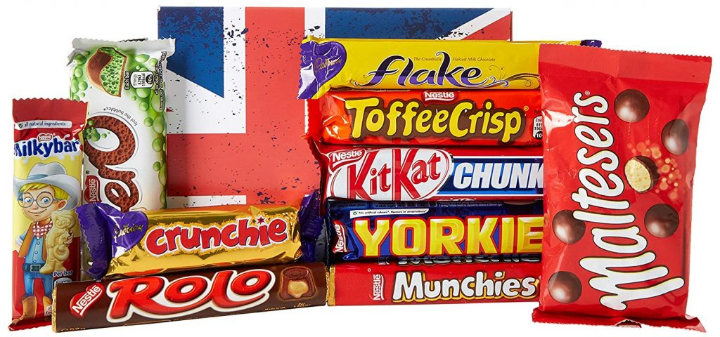 UK chocolate bars