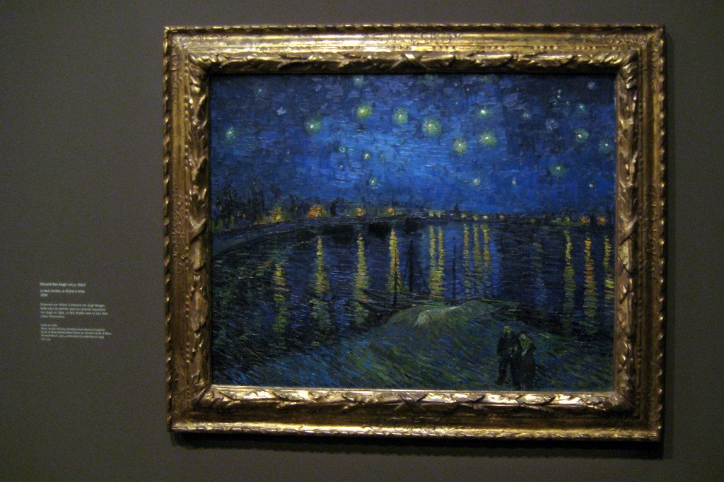 Starry Night - Van Gogh at Musee d'Orsay