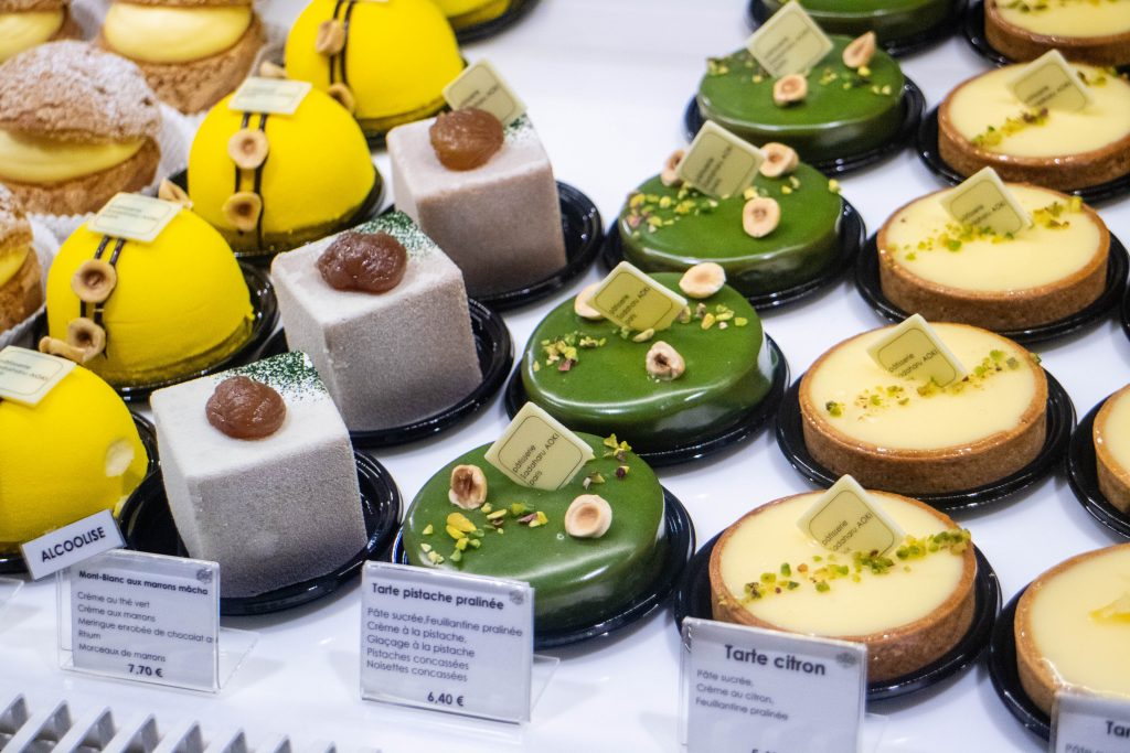 Pastries from Sadaharu Aoki at Galeries Lafayette Maison & Gourmet