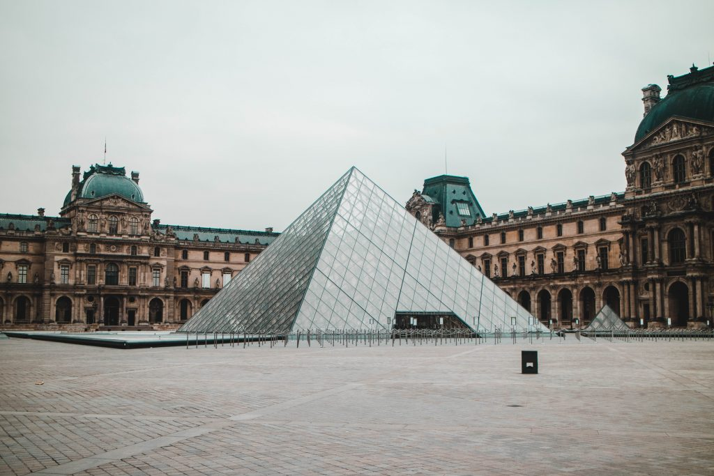 Louvre Museum - Lockdown in Paris